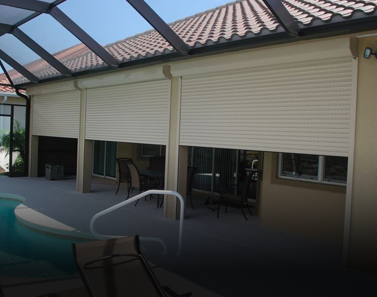 Storm Smart's Aluminum Rolling Shutters in Fort Myers