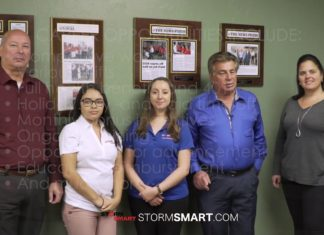 Storm Smart team at Fort Myers, FL