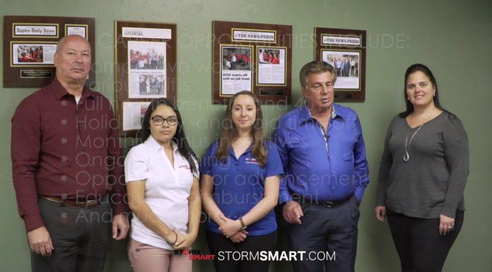 Storm Smart team at Fort Myers, FL