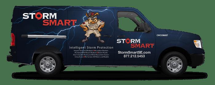 Storm Smart Van Logo